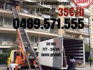Transport déménagement